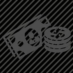 bank, business, cash money, finance, financial, richment, wealth icon