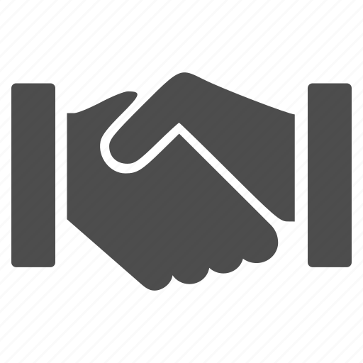 agreement, business contacts, contract, friend hands, handshake, relation, support icon