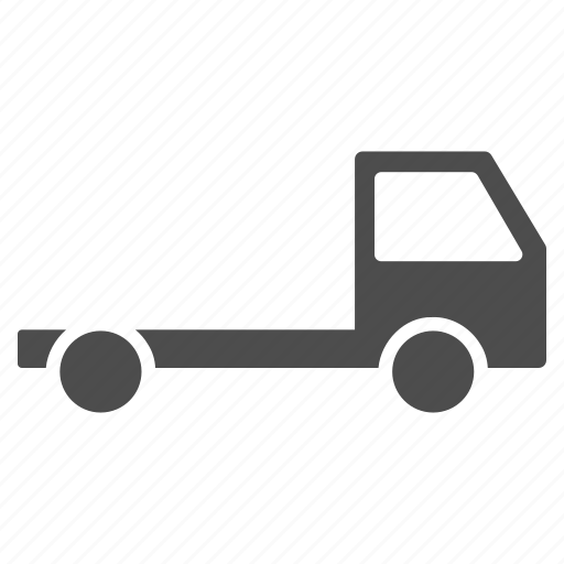 chassis, delivery, logistics, transport, transportation, truck, vehicle icon