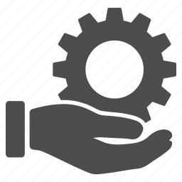 engineering, hand, mechanic, service, settings, support, tools icon