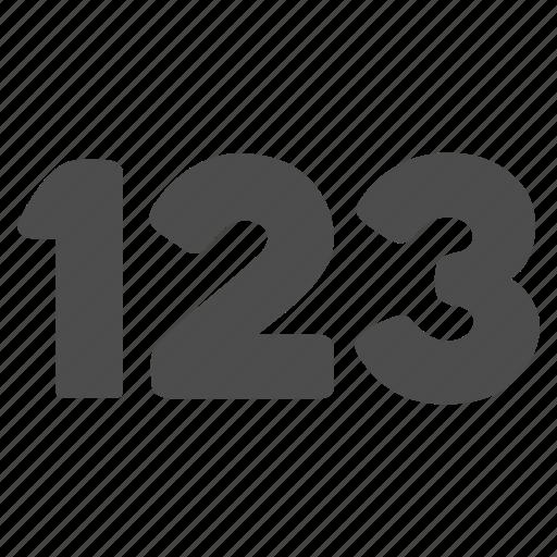 amount, digit symbols, digital, numbers, numeric, phone number, quantity icon