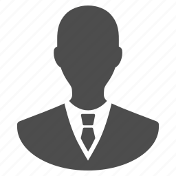 business man, businessman, employee, leader, manager, person, user icon