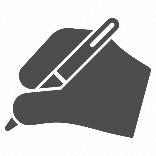 agreement, calligraphy, pen, signature, subscribe contract, write, writing hand icon
