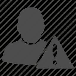 ban user, banned, black list, check, restricted, risk management, scoring icon