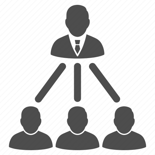 boss, organization, social network, staff, team, user group, users icon