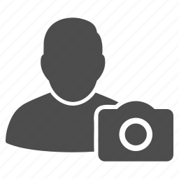 camera, photography, photos, pictures, profile, snapshot, user photo icon