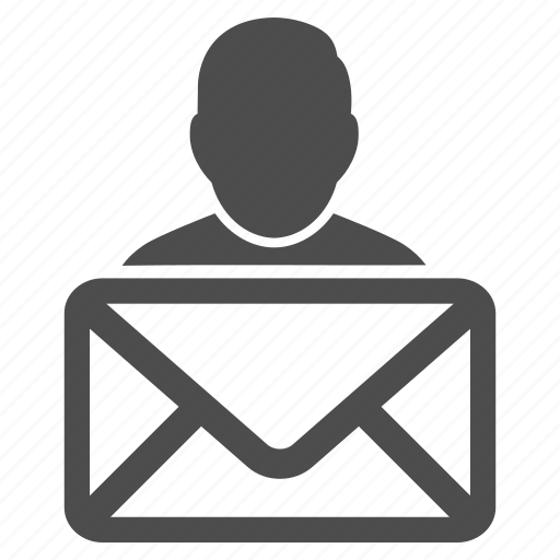 communication, email, envelope, letter, mail sender, message, send icon