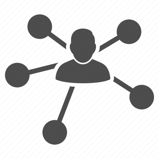admin, company, link building, management, relations, social network, user contacts icon