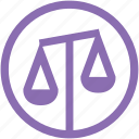 equality, goddess, greek mythology, justice, purple, scales, themis icon