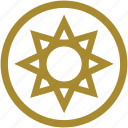 god, greek mythology, helios, sky, sun, sunny, yellow icon