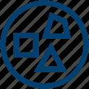 blue, god, greek, mythology, proteus, sea, water icon
