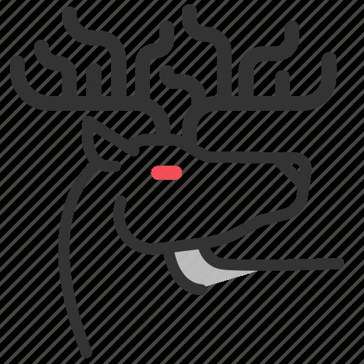 antlers, ceryneian hind, cerynitis, deer, golden hind, greek, mythology icon