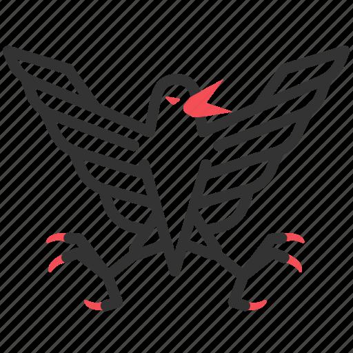 bird, greek, monster, mythology, stymphalia icon