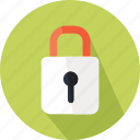 lock, locked, padlock, save, secure, security icon