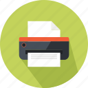 business, colour, marketing, office, paper, print, working icon