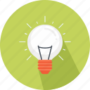 bulb, business, freelancer, idea, light, light bulb, marketing icon