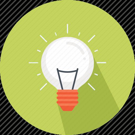 bulb, business, freelancer, idea, light, light bulb, marketing icon