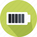 battery, battery status, full battery, security, technology icon