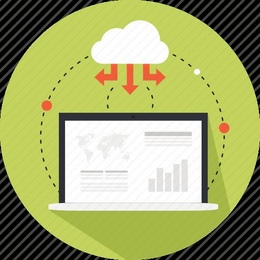 analystics, business, buy, map, online, online marketing, statistics icon