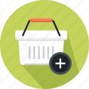 coin, commerce, money, online shop, shopper, shopping, shopping basket icon