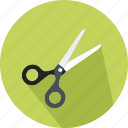 cut, cutting, freetime, handcraft, miscellaneous, scissors icon