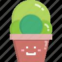 cacti, cactus, desert, mammillaria, nature, pot, summer icon