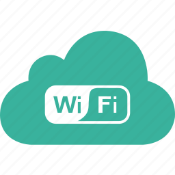 cloud, connection, gps, network, signal, wifi, wireless icon