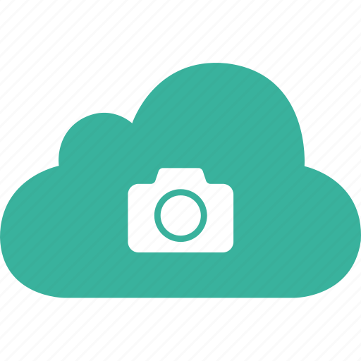 camera, cloud, image, media, photo, picture, snap icon
