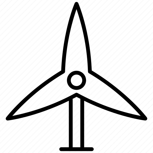 eco, ecology, environment, green energy, power, wind turbine icon
