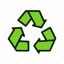 eco, ecology, energy, environmental, green, nature, recycling icon