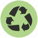 alternative energy, energy, green, recycling icon
