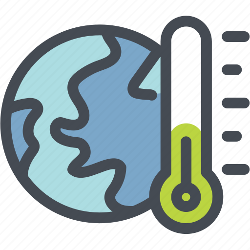 cool, ecology, energy, global cooling, globe green, green, thermometer icon