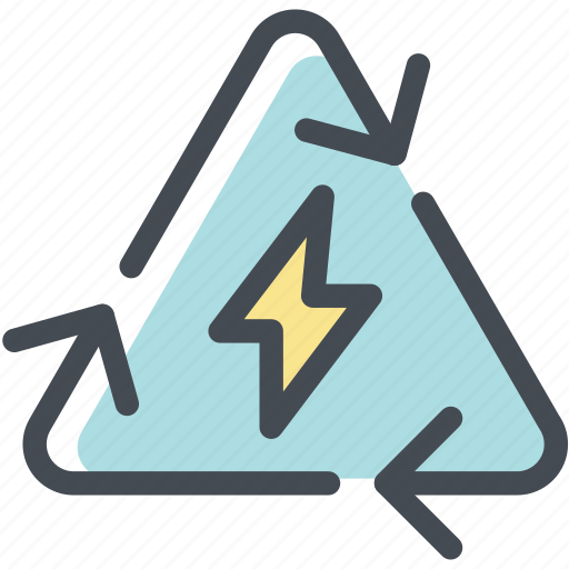 ecology, energy, energy recycle, environment, reuse, sustainable, trash icon
