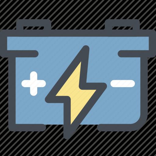 battery, ecology, energy, energy saver, energy saving battery, green, green energy icon