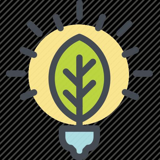 ecology, energy, fluorescent light bulb, green, green energy, renewable, sustainability icon