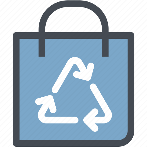Bag, ecofreindly, ecology, environment, green, leaf, recycle bag icon - Download on Iconfinder