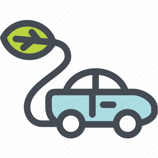 eco car, ecology, energy, environment, green, vehicle icon