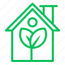 building, ecology, energy, green, home, house icon