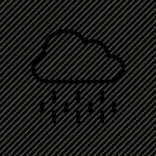 cloud, environment, nature, rain, raining, rainy, weather icon