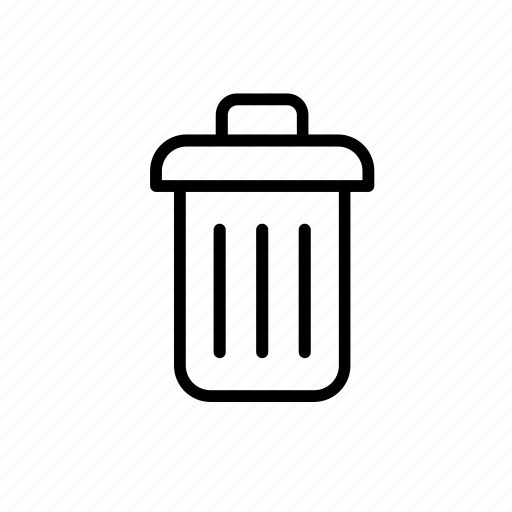 basket, bin, paper, recycle, recycling, wastepaper icon