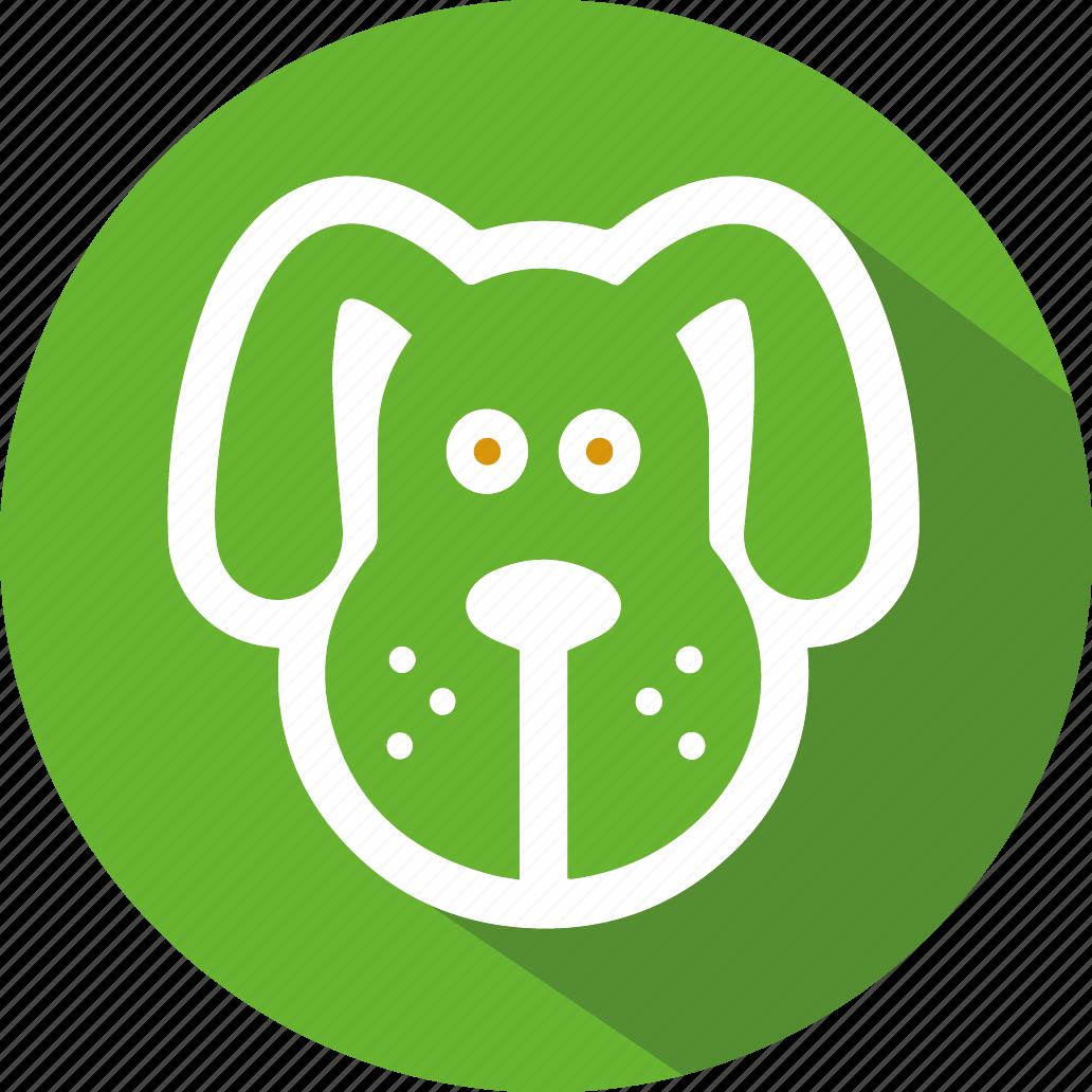 animal, dog, feeds icon