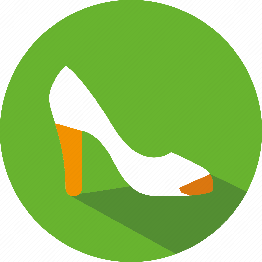 lady, shoes icon