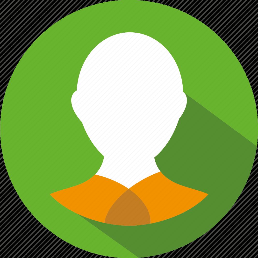 man, person, user icon