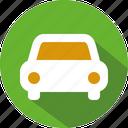carr, taxi icon
