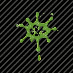 blob, drip, mucus, slime, splash, splat, spot icon