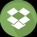 data, dropbox, logo, sharing
