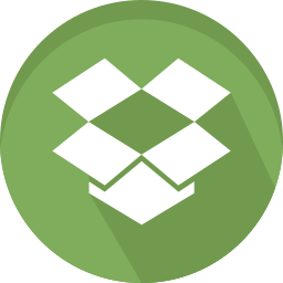 data, dropbox, logo, sharing icon