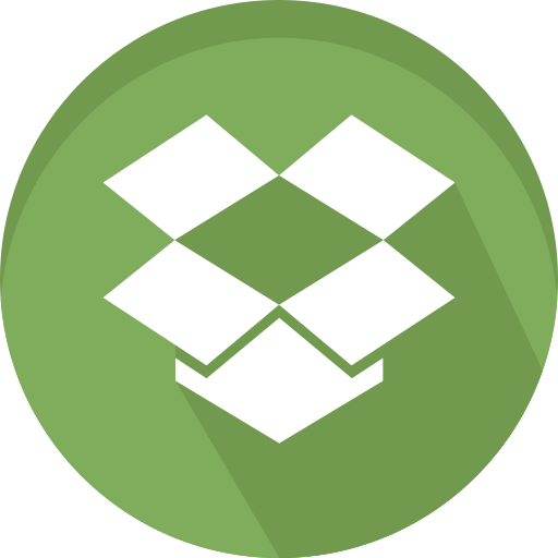 Data, dropbox, logo, sharing icon - Free download