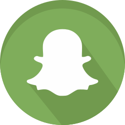 chat, logo, networking, smartphone, snap, snapchat, social icon