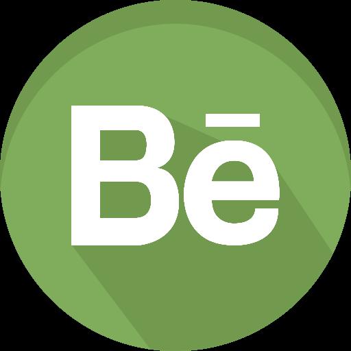 behance, design, logo, media, network, social icon